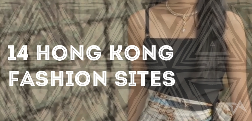 14 Hong Kong fashion shopping sites