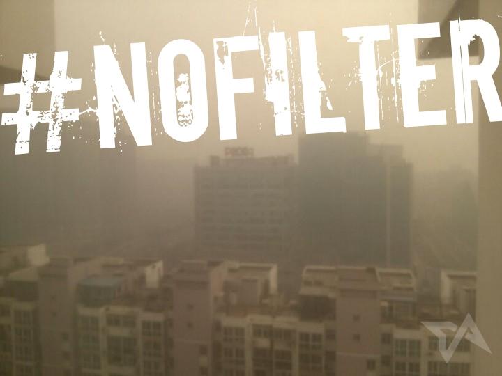 Beijing pollution photo