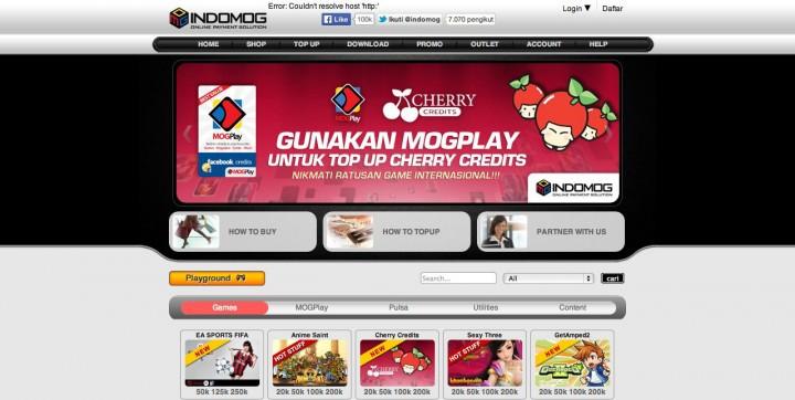 Indomog-website