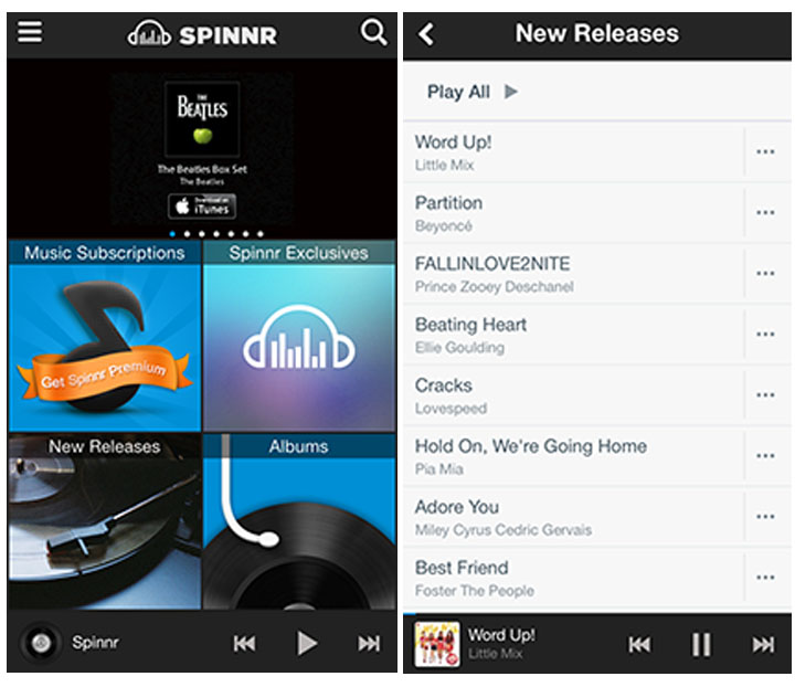 Spinnr Screenshot