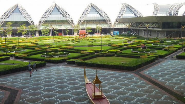 Suvarnabhumi airport bangkok thailand