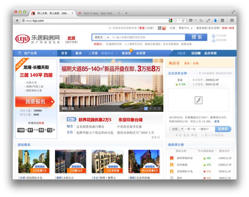 Tencent Leju deal