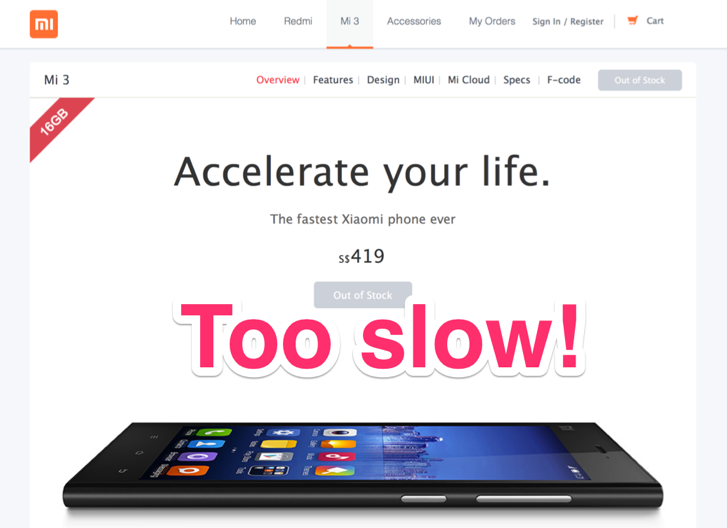Xiaomi's Mi3 sells out in 2 minutes in Singapore debut