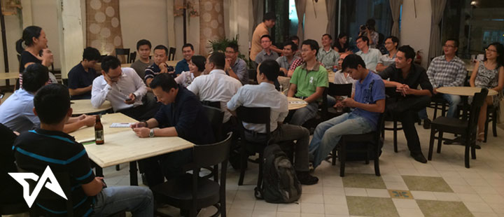 A private event for Vietnamese tech founders only. Over 40 founders came together to share and network with each other.