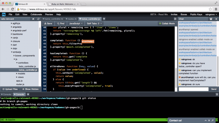 screenshot-web-ide