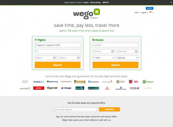 ecommerce sites singapore wego