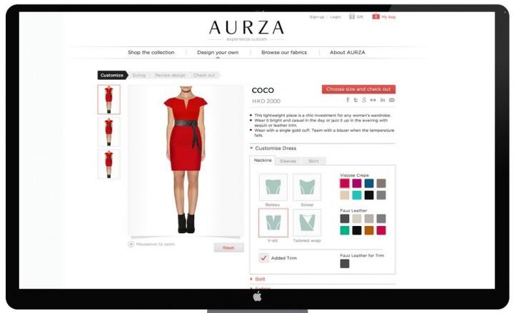 Aurza-sizing