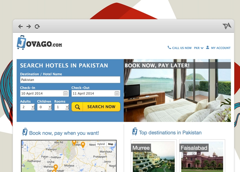Jovago Pakistan launch