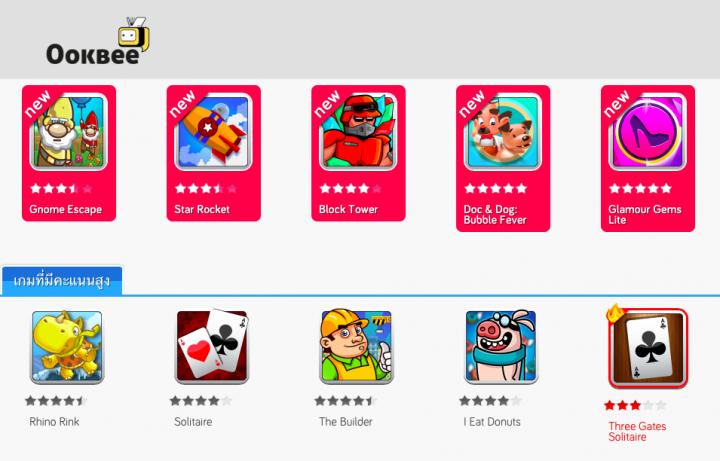 Ookbee games