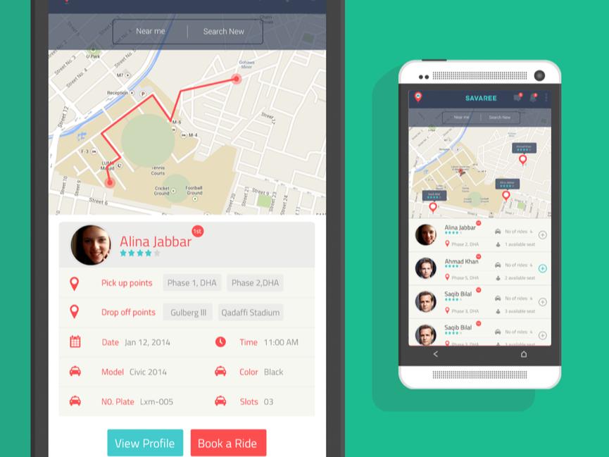 Savaree - This good-looking new app brings carpooling to Pakistan
