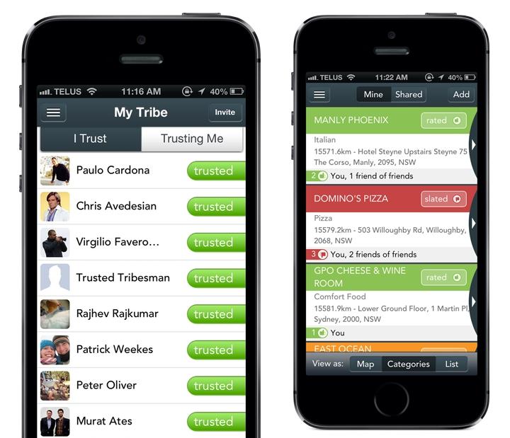 TrustMyTribe app