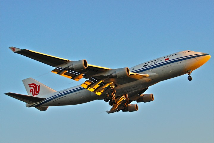 air china airplane