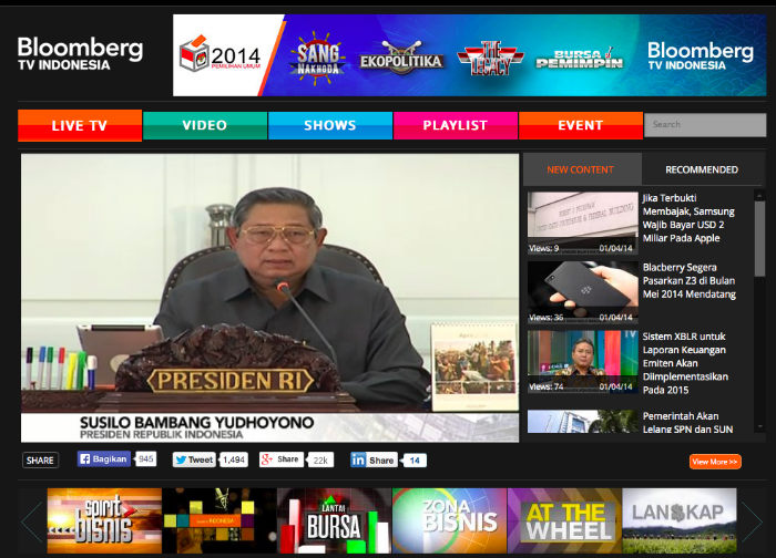 Bloomberg TV Indonesia