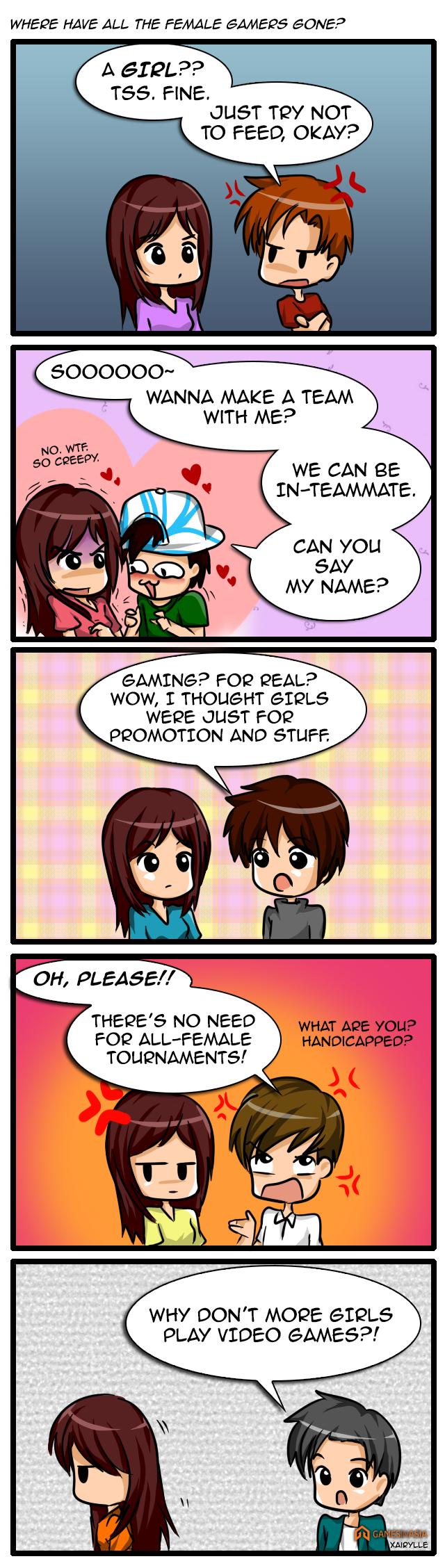 Where can i find a gamer girlfriend