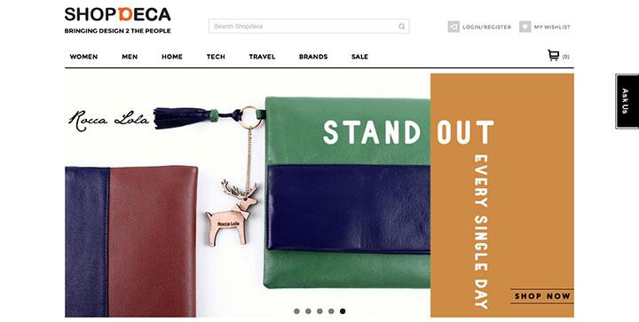 shopdeca-website