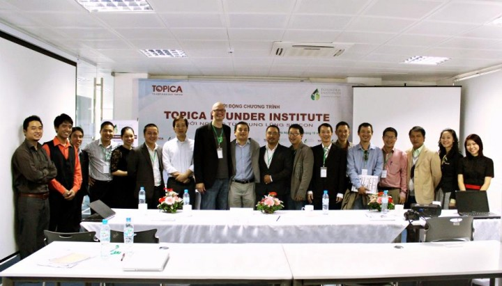 Topica Founder Institute, the accelerator behind Appota's rise