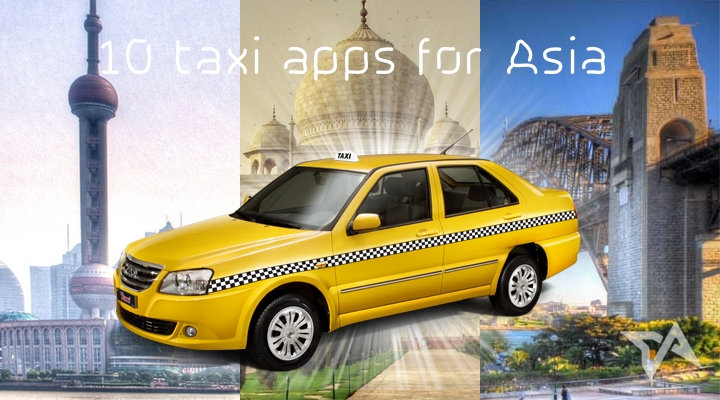 10 taxi apps for Asia - 2014 list