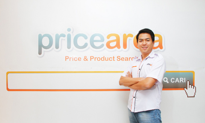 Andry Suhaili, CEO and founder at PriceArea