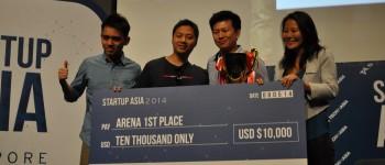 Startup Arena Singapore 2014 Winner