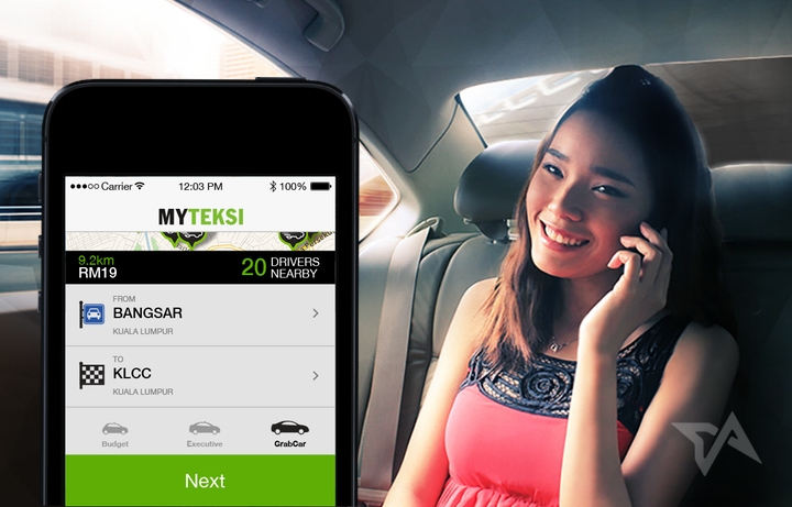 GrabTaxi challenges Uber with launch of new limo service called GrabCar