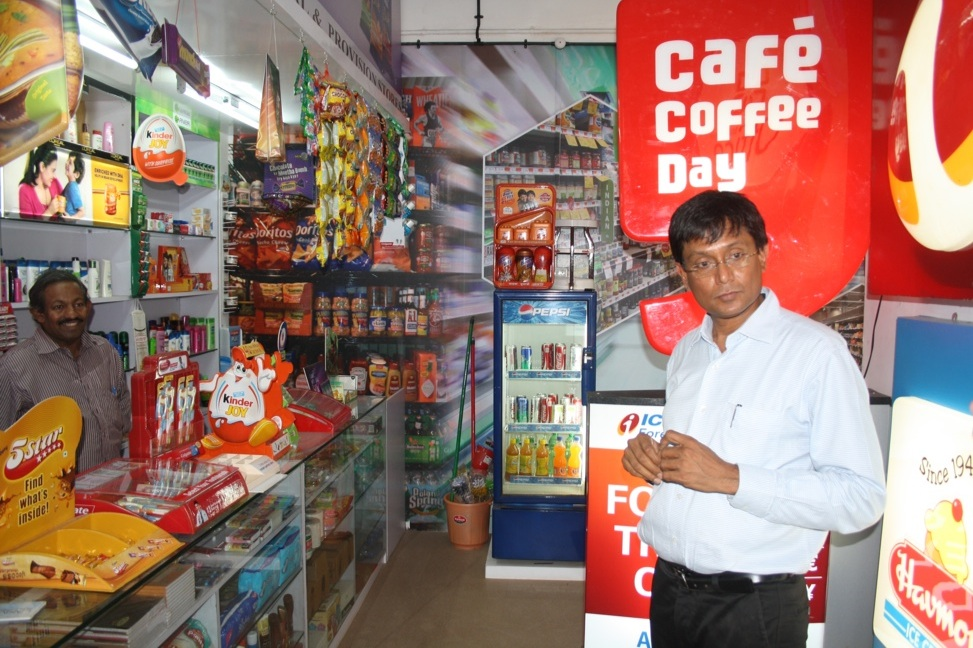 India kirana store home deliveries to shoppers