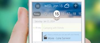 Kiwi Calendar iOS app
