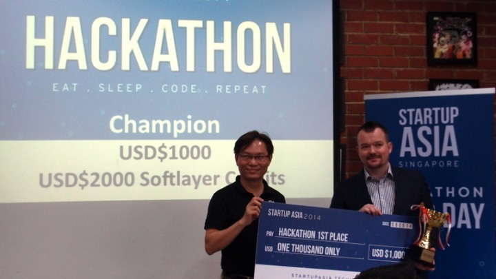 Startup Asia Singapore 2014 hackathon: the winners