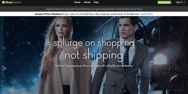Shoprunner screens