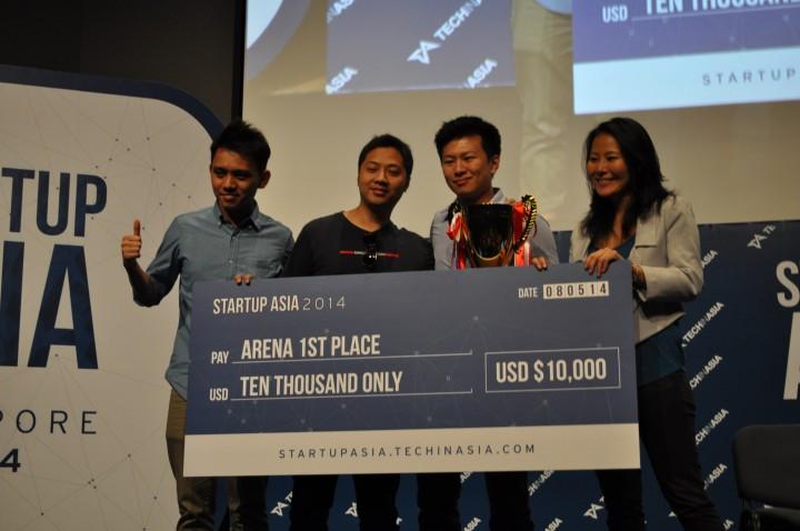 bindo startup asia arena