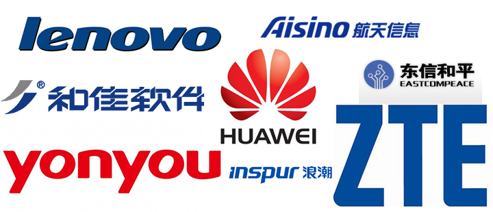 china cyberspying beneficiaries logos