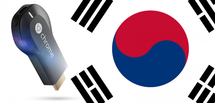 korea chromecast