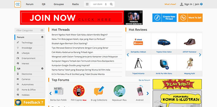 Indonesias kaskus now has 750 million monthly pageviews new kaskus website stopboris Image collections