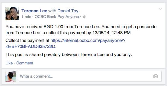 ocbc pay anyone receive 1