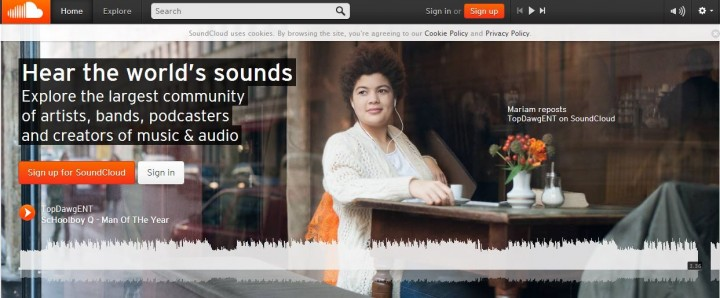 SoundCloud is top pick for music streaming in emerging