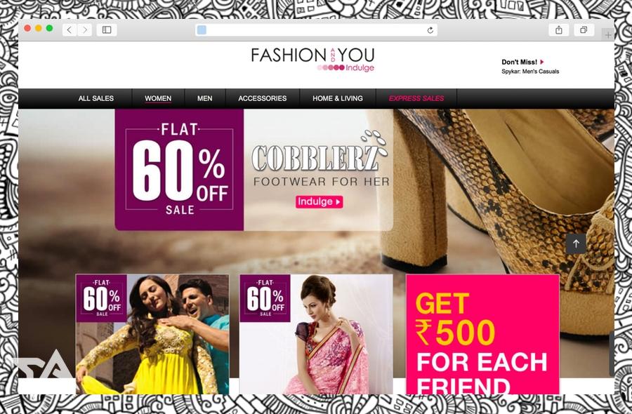 India's flash sales startup FashionAndYou raises $10 million