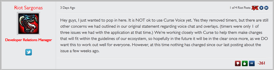 If Riot Games thought Curse Voice was bad, it needs to see