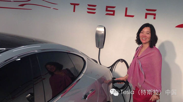 Tesla mall Supercharger points in China - 02