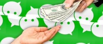 WeChat transfer money to friends