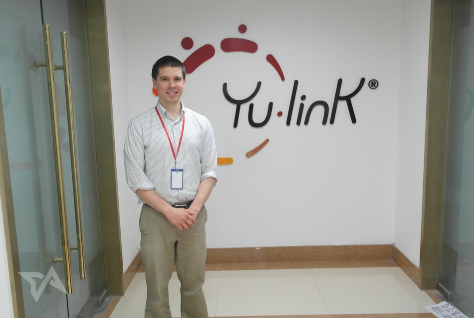 Yu-Link co-working space in Shanghai