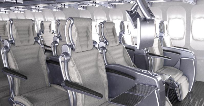airgo airline economy class seats