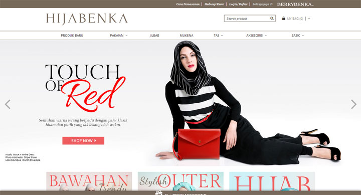 hijabenka-website