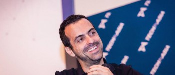 Xiaomi's Hugo Barra speaking at Startup Asia Singapore 2014.