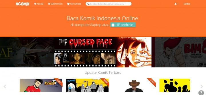 ngomik-website