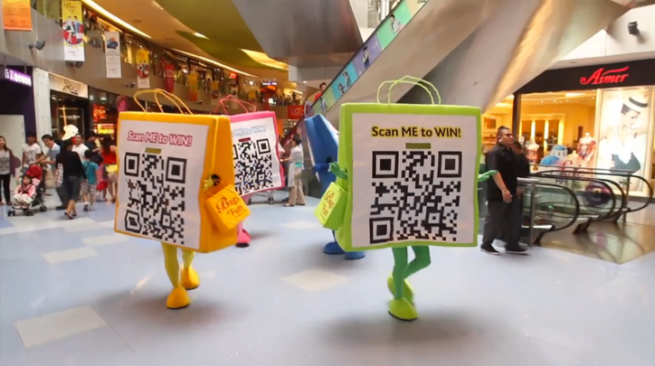 marketing offline y online - QR Code