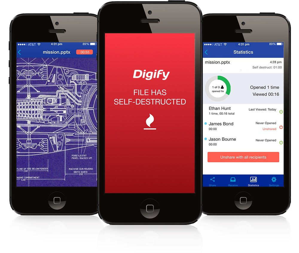 digify secure file sharing