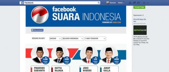 Facebook Indo election