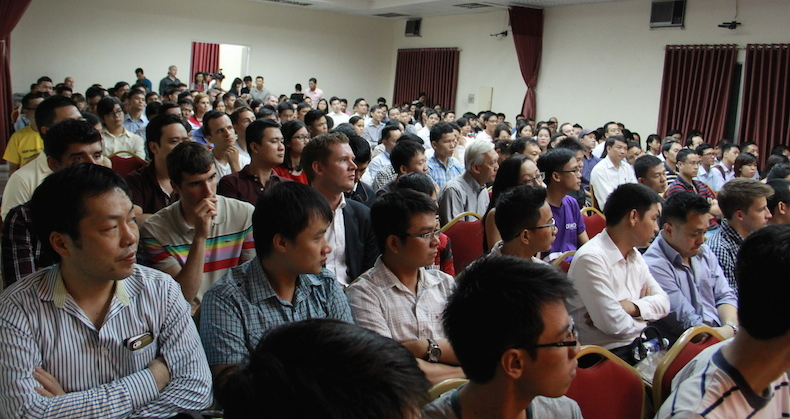 Crowd at Tech in Asia Arena HCMC