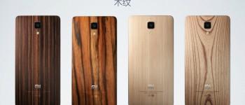 Xiaomi Mi4 wood covers