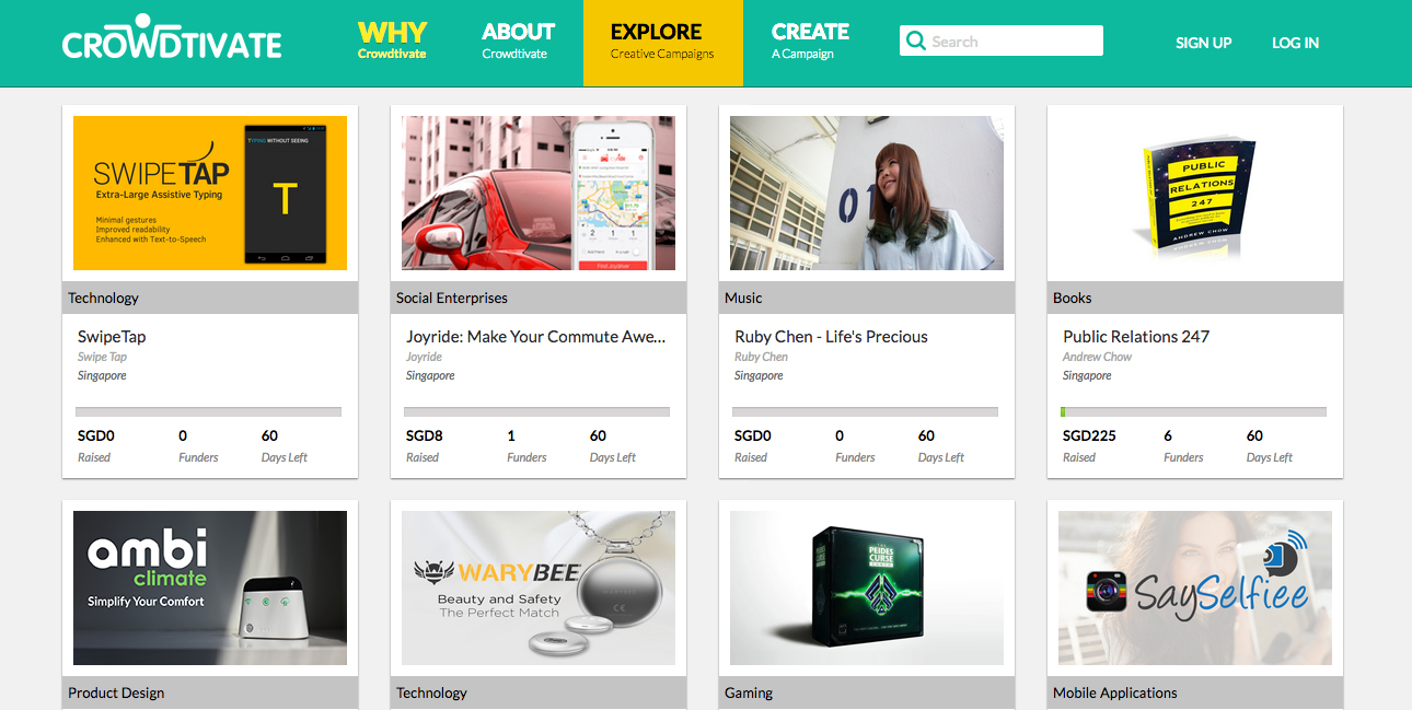 StarHub's crowdfunding site launches to the public; here are 5 of the best projects