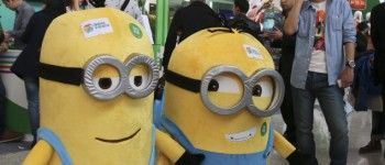 despicable me minions man on phone
